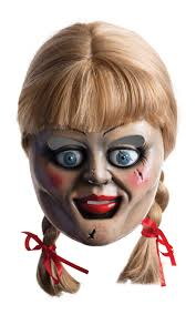 Mask Movie Halloween Costume Annabelle Creation Movie Release Hollywood Fancy Dress