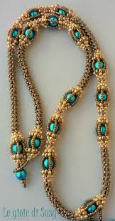 rope necklace designs images 492 best beading spirals chains and ropes images jpg