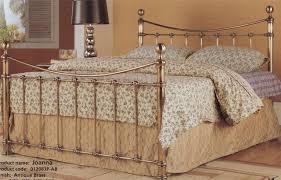 antique iron beds white antique iron metal bed frame vintage