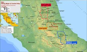 map of perugia majella national park 6 map set stanfords
