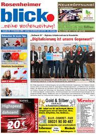 Miele K Hen Rosenheimer Blick Ausgabe 50 2016 By Blickpunkt Verlag Issuu
