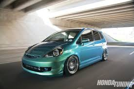 2013 10best cars honda fit honda tuning fit gd on ssr rims and kenstyle bodykit rides