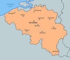 belgium map outline belgium map stock vector image of destination outline 23061335
