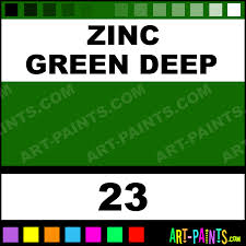 zinc green deep mir oil paints 23 zinc green deep paint zinc