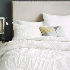 Sham For Bed Cora Rouched Quilt Shams West Elm