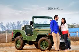 punjabi jeep pre wedding