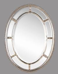 Brushed Nickel Mirror Bathroom bathroom brushed nickel wall mirror oval mirrors for bathroom
