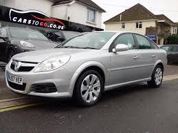 used 2007 vauxhall vectra 1 8 i vvt exclusiv 5dr for sale in