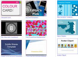 melhores sites para baixar modelos do powerpoint