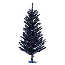 black christmas tree kurt adler 18 black mini christmas tree home kitchen