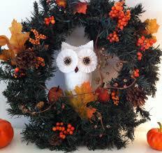 the christmas owl festive news crafts u0026 holiday decor