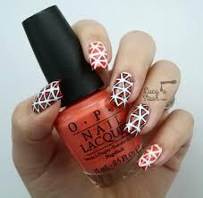 cool geometric pattern nail art i won u0027t do again lucy u0027s stash