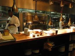 open kitchen restaurant interior design of red rooster harlem new