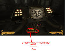 Fallout Old World Blues Map by Saw This Binary In Old World Blues Decided To Decode It It Was