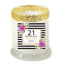 personalized birthday candles abella 30 fabulous birthday personalized candle