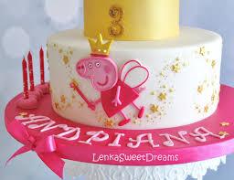 peppa pig cake princess peppa pig cake cakecentral