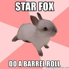 Do A Barrel Roll Meme - star fox do a barrel roll roleplay shipper bunny meme generator