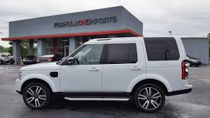 used land rover lr4 2016 land rover lr4 hse lux landmark edition for sale formula