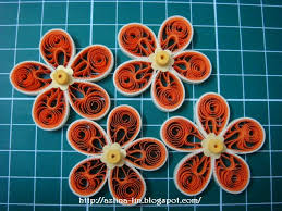 tutorial quilling flower malaysian flower