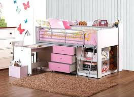 childrens loft beds with desk pottery barn teen loft bed desk and