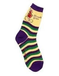 mardi gras socks foot traffic womens mardi gras socks the sox market