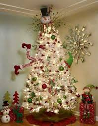 snowman christmas tree clever white christmas tree decorating ideas christmas tree