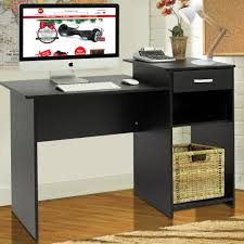 Small Brown Desk Desk Office Table For Small Space Small Laptop Desk With Storage