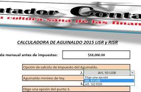 calculadora de salario diario integrado 2016 calculadoras fiscales archivos contador contado
