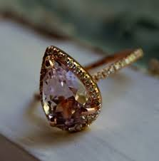 chagne diamond engagement ring reserved 3ct color change sapphire lavender chagne tear drop
