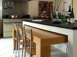 table escamotable dans meuble de cuisine table de cuisine escamotable table cuisine escamotable ilot central