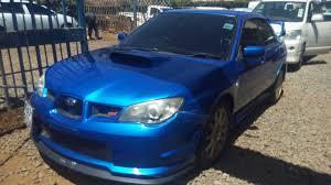 Locally Used Subaru Impreza Wrx Sti 2005 Performance Sports Car