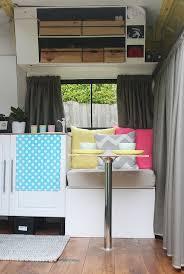 Motor Home Interiors Van Conversion Motorhome Interior Design Decoration Campervan