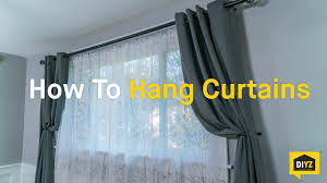How To Hang Pottery Barn Curtains How To Hang Curtains Youtube