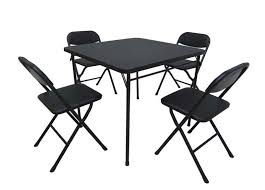 5 piece card table set marvellous cosco folding table and chairs walmart recalls card table