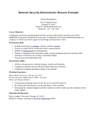 it security resume resume for your job application