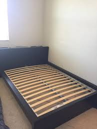 Ikea Bed Platform Awesome Ikea Malm Bed Frame Full Size With Slated Base In Milpitas