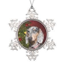 dapple dachshund ornaments u0026 keepsake ornaments zazzle