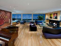 living room in mansion world of architecture hollywood villas modern multi million