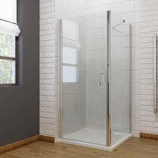 glass pivot shower door frameless shower enclosures buy online pivot frameless shower