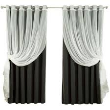 Black Sheer Curtains Window Curtains Spectacular Of Best 25 Black Sheer Curtains Ideas