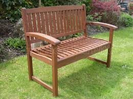 henley 2 seat hardwood garden bench 1 2 price sale now on your
