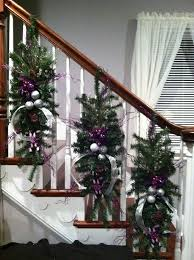 Christmas Banister Garland Ideas 054428 Holiday Decorating Ideas For Banisters Decoration Ideas