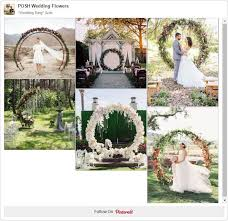 wedding arches to hire cape town wedding ring circle arch lush garden wedding and weddings