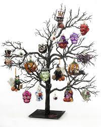 Decorated Halloween Trees Black Halloween Tree Decorating Pumpkins For Halloween Halloween