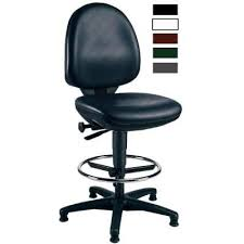 bureau dessinateur siège de bureau dessinateur haut en similicuir noir sièges et