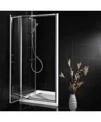 Shower Door 700mm 900mm X 700mm Pivot Door Shower Enclosure And Shower Tray
