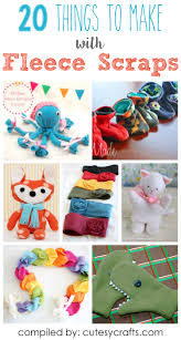 halloween sewing crafts 20 adorable things to make with fleece scraps scrap craft and
