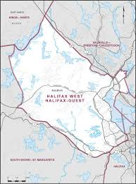 Halifax Canada Map by Halifax West Maps Corner Elections Canada Online