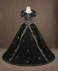 gothic black wedding dresses luxury brides