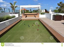 bocce ball court stock photo image 70587229